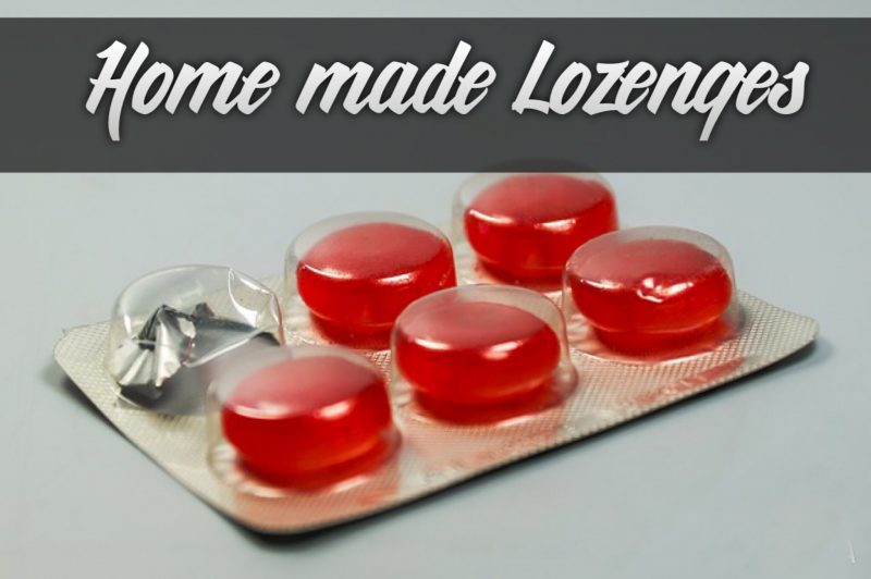 home made lozenges