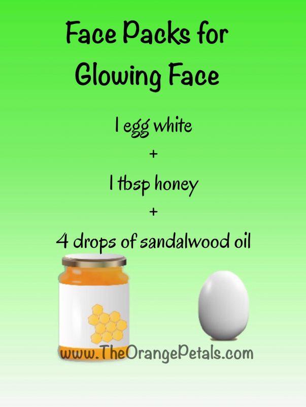 egg facepack