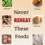 10 Foods that should never be reheated