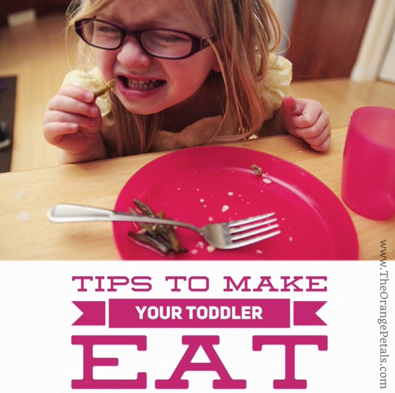 tips to make your toddler eat