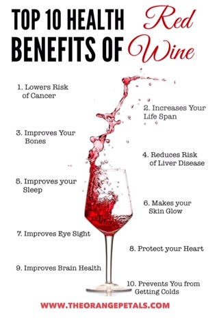 A Glass Of Red Wine A Day Benefits