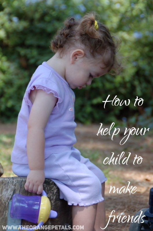 help your child to make friends