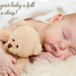 How to give your baby a full night's sleep