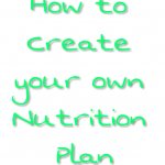 How to create a Nutrition Plan you'll Actually Like