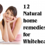 Natural Home remedies for Whiteheads