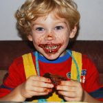 Effects of chocolate on teeth