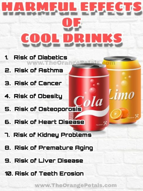 Harmful Effects Of Soft Drinks