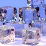 Ice cubes for face