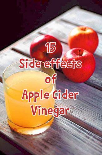 Side Effects of Apple Cider Vinegar