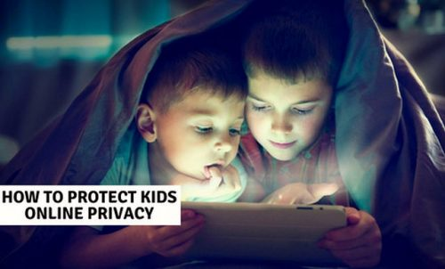 Protect kids online privacy